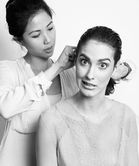 Creative Directing for a Beauty Editorial