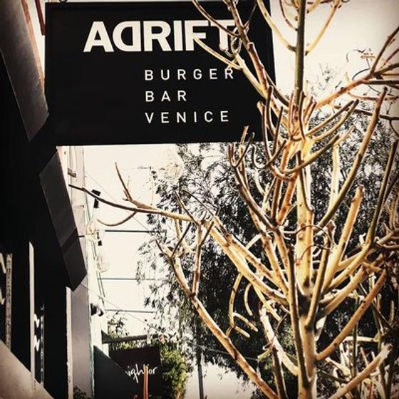 adrift burger venice LA