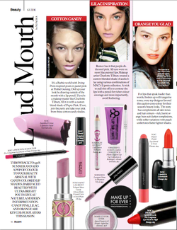 THE RETURN OF CANDY-COLOURED LIPS