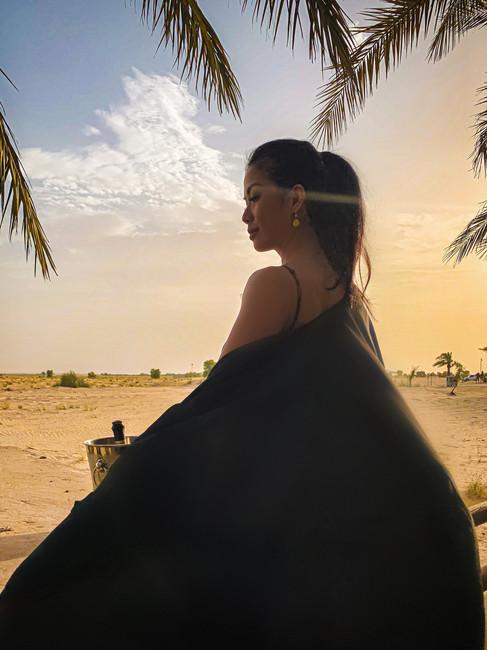 bab al shams desert luxury