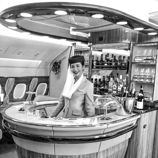 Emirates A380 Premium Lounge Feature
