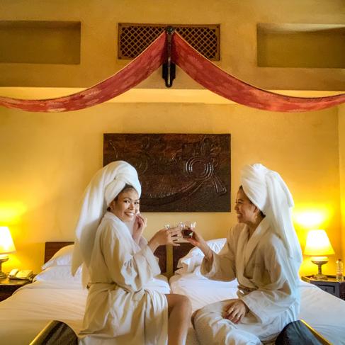 Bab Al Shams morning luxury
