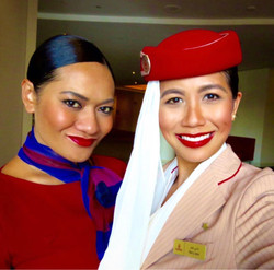 emirates and virgin airlines