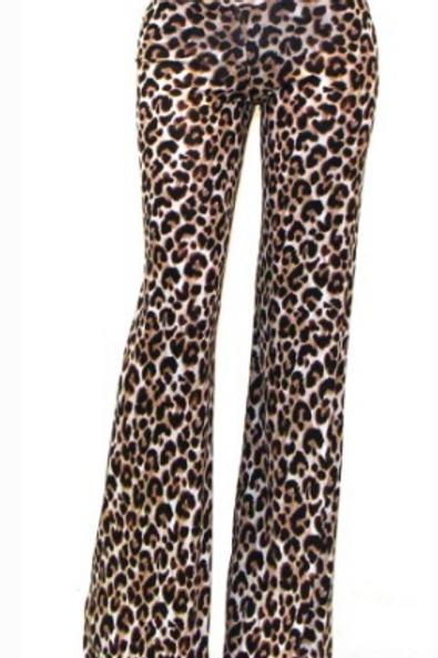 Leopard Lounge Pool Pants