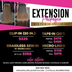 extension packages flyer
