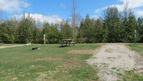 Site 212 driveway