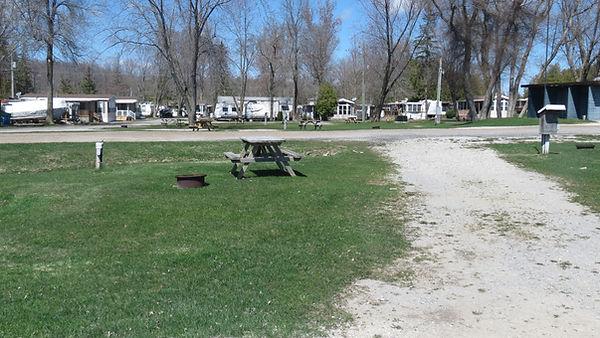 Site 209 driveway