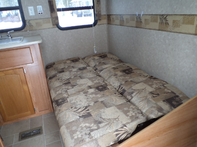 Puma futon folded down