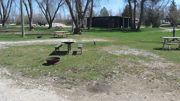 Site 114 driveway