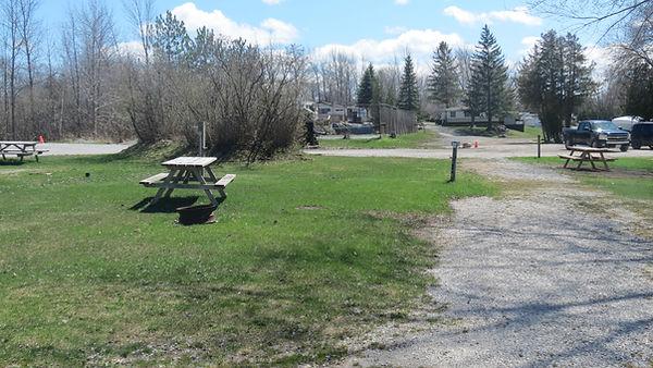 Site 110 driveweay