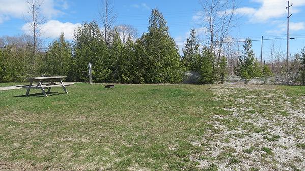Site 213 driveway