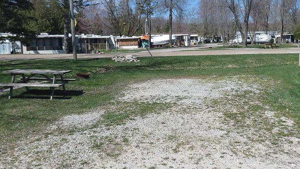 Site 210 driveway