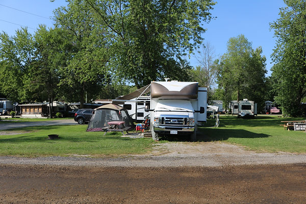 Site 118 with motorhome