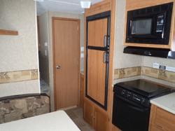 Puma fridge and stove