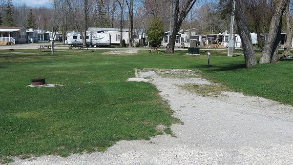 Site 119 driveway
