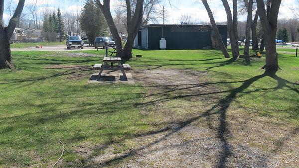 Site 111 driveway
