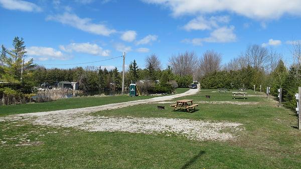 Pond area sites
