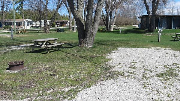 Site 117 driveway