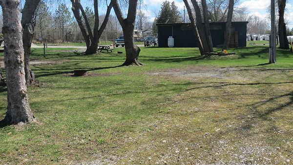 Site 112 driveway