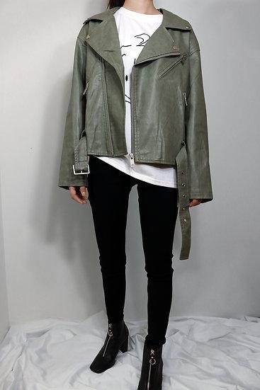 G Leather Jacket