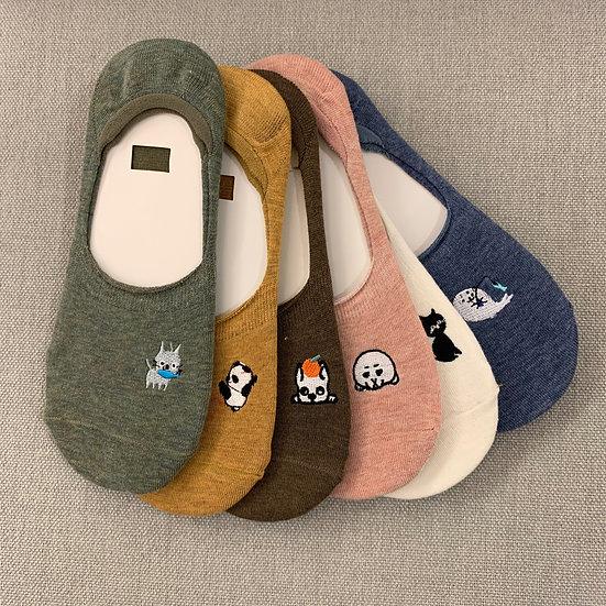 Animal Summer Socks