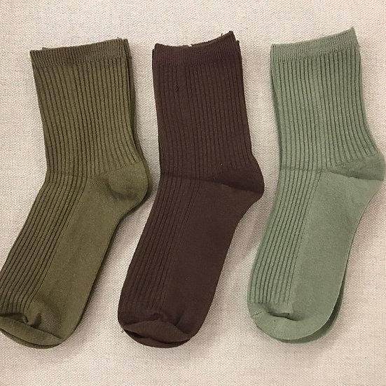 Forest Ankle Socks