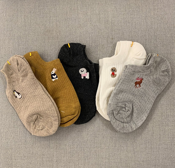 Animals Colorful Socks