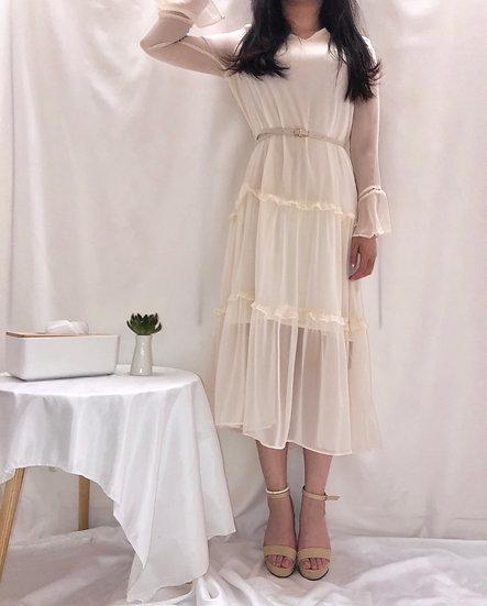 Layer Mesh Dress