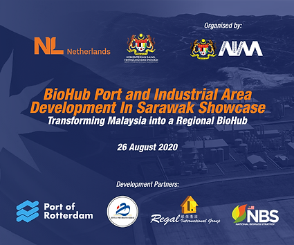 BioHub Port Event e-backdrop side panel