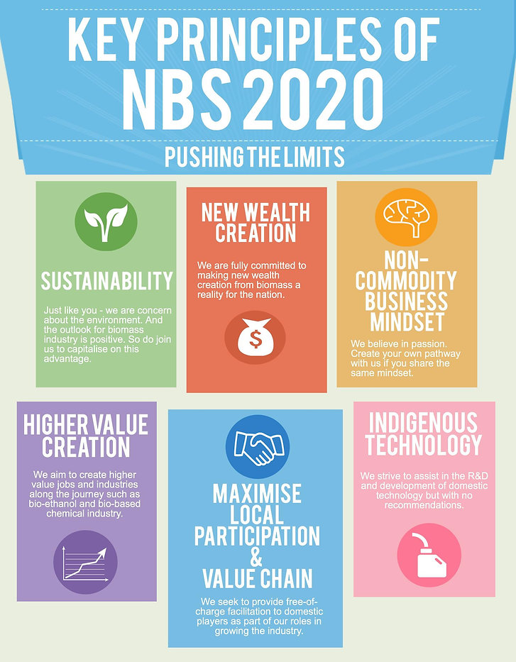 Sustainability, New Wealth Creation, Non-commodity business mindset, higher value creation, maximise local participation & value chain, indigenous technology