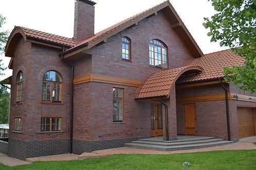 Лесники, готовый дом с классическим ремонтом