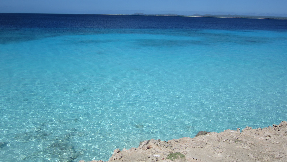That's what we came for - turquoise water.