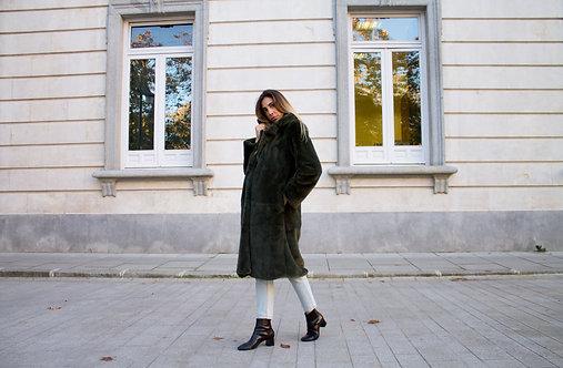 Faux Fur Coat by Jaase