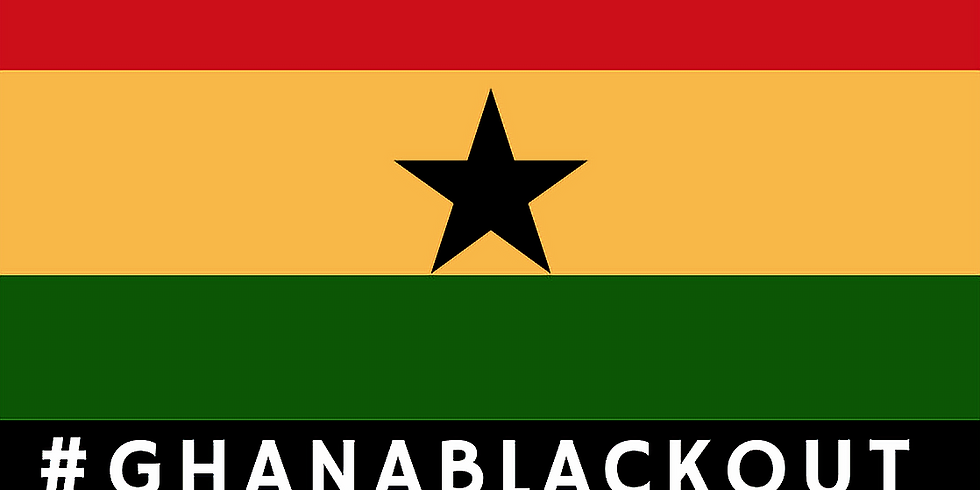 Ghana Blackout Buy-In Pre-Registration