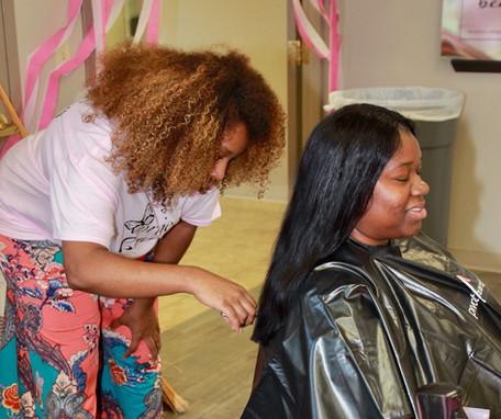Buckner International & Project Beauty Mother's Day Event