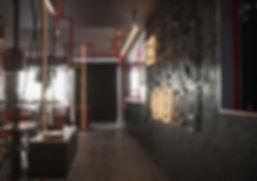 Роспись стен для ресторан РУФ