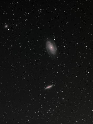 M81, M82 et NGC 2976