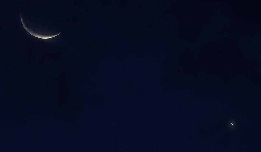 Conjonction Lune - Vénus