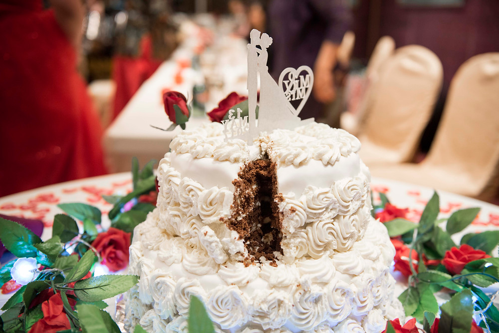 Cut Wedding Cake Forbidden City