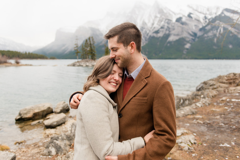 Portrait Photographer - Banff, Ab - Devon & Daria