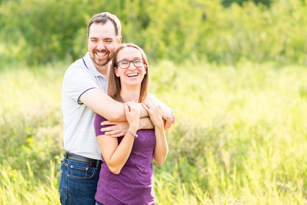 Engagement Photographer - Fish Creek Park - Kevin & Elizabeth