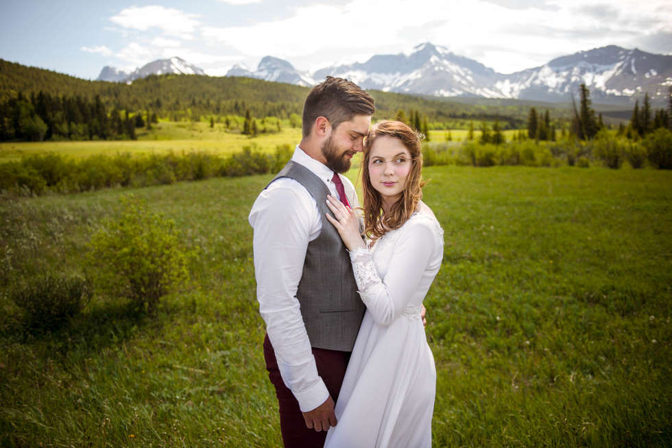 Liecth Collieries and Crowsnest Lake Bible Camp Wedding - Crowsnest Pass, AB - Josh & Bronwyn