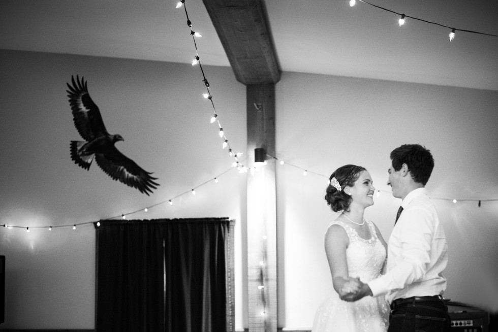 First Dance - Crowsnest Pass, AB - Crowsnest Pass Wedding Photographer