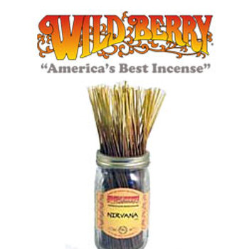 "Nirvana Wildberry 11"" Stick Incense"