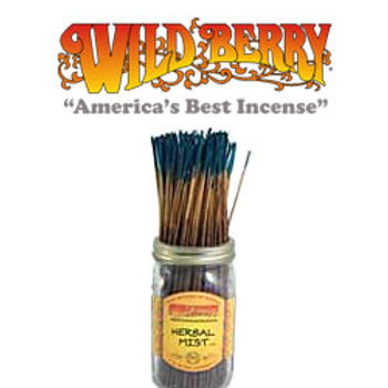 "Herbal Mist Wildberry 11"" Stick Incense"