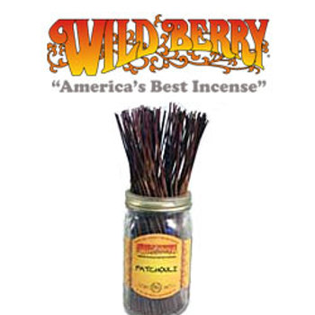 "Patchouli Wildberry 11"" Stick Incense"