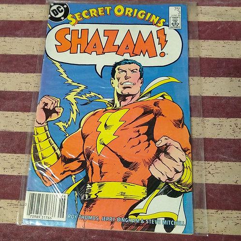 June 86 Secret Origins Shazam!