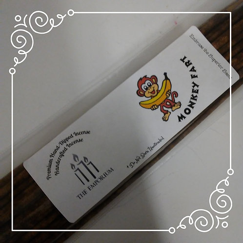 Emporium Made Hand Dipped Monkey Fart Incense