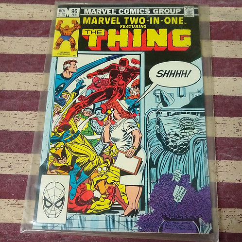 Fed 82 Marvel Two-in-One featuring The Thing
