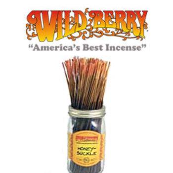 """Honeysuckle Wildberry 11"""" Stick Incense"""